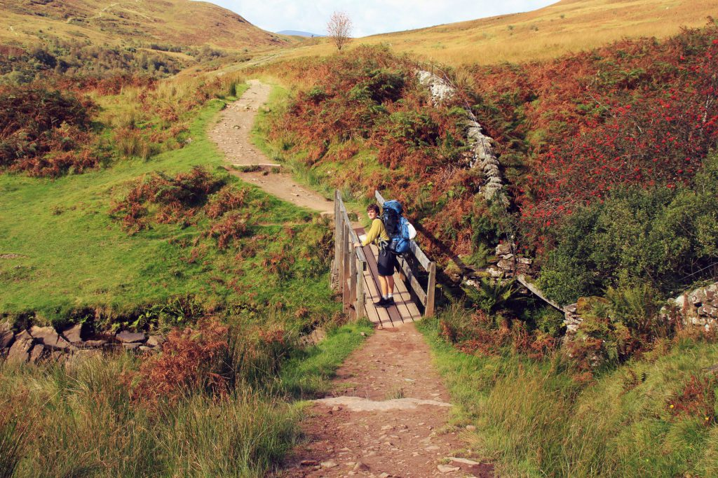 West Highland way a na ní stojím já!