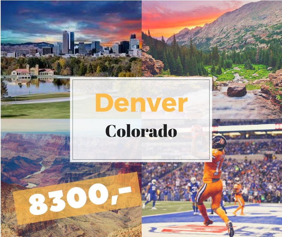 levné letenky Denver